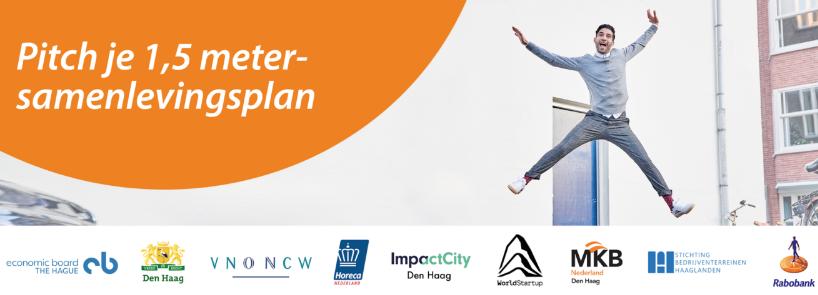Doe dan! Pitch je 1,5 metersamenlevingsplan. Hoe ondernemen we voor een creatieve en technologische Haagse Stad?