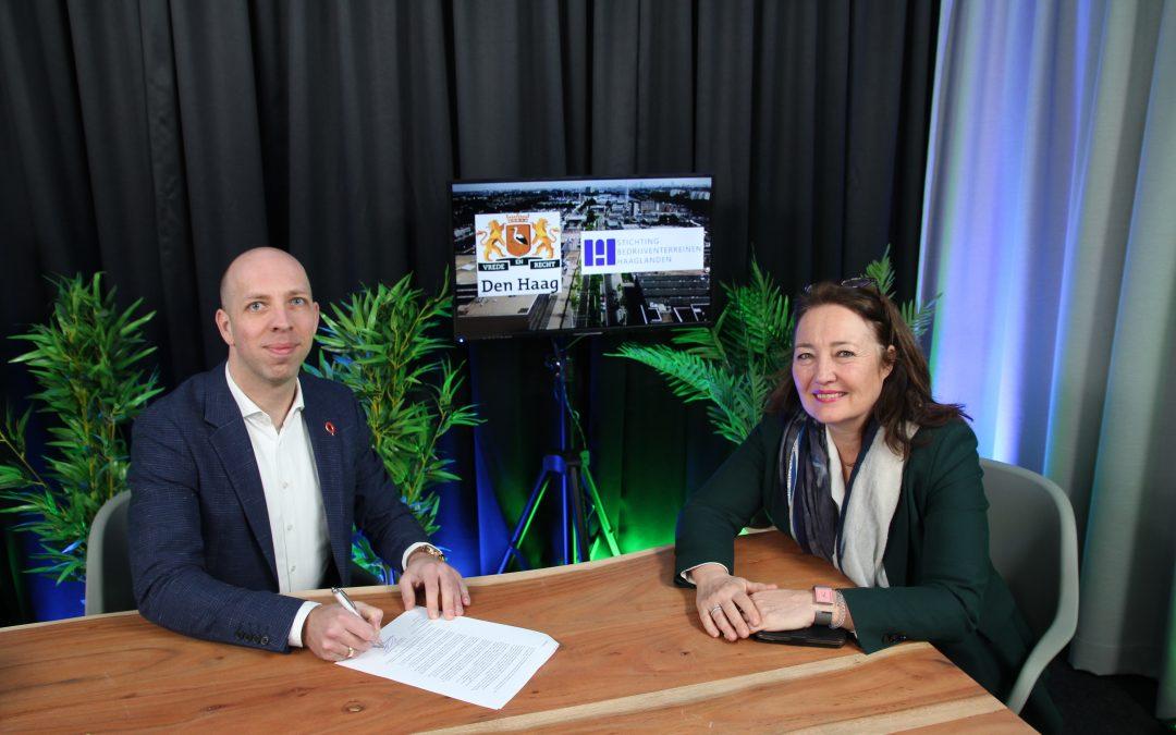 24 maart 2021 – Ondertekening Convenant Bedrijventerreinen Gemeente Den Haag